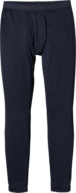 Patagonia Men's Capilene Midweight Long Underwear Bottoms Navy Blue XXL