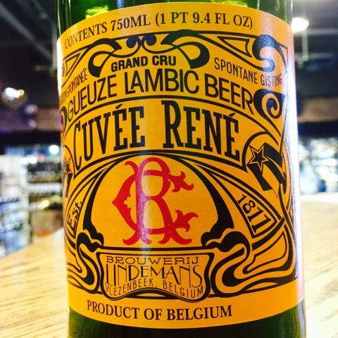 Lindemans Brewery - #Gueuze Cuvée René Beer - An authentic Oude Gueuze - deeply complex, dry, with tart & sometimes extreme flavors.- ABV: 5.2% - OG: 1.048 - IBU: 16 #wheatbeer  #beers