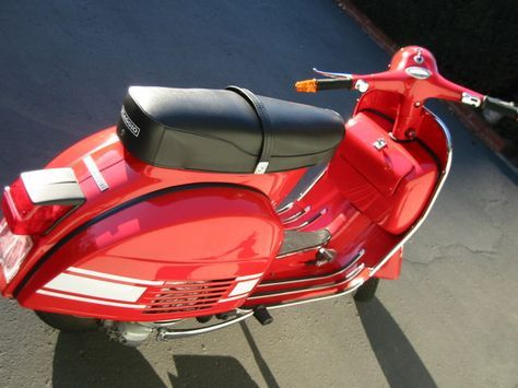 Modern Vespa : 1974 Vespa Rally 200 - Full Restoration