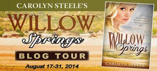 5 Star review on readalot: Blog tour: Willow Springs by Carolyn Steele
