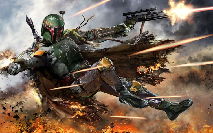 Star Wars, Boba Fett Wallpaper