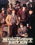 The Magnificent Seven starring Michael Biehn, Eric Close, Andrew Kavovit, Dale Midkiff, Ron Perlman, Anthony Starke, Rick Worthy, Laurie Holden, David S. Winn III, Laurie Holden, Robert Vaughn, Dana Barron and Michelle Phillips