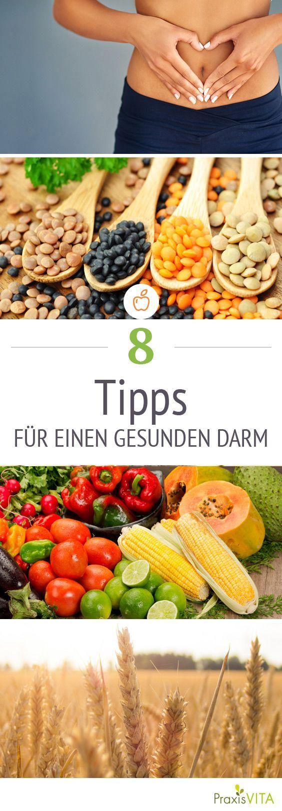 8 Tipps für einen gesunden Darm. Ein gesunder Darm ist die Grundlage für Gesundheit. Auch bei einer Nahrungsmittelunverträglichkeit, wie Laktoseintoleranz, Fructoseintoleranz oder Glutenunverträglichkeit ist es wichtig auf einen gesunden Darm zu achten.