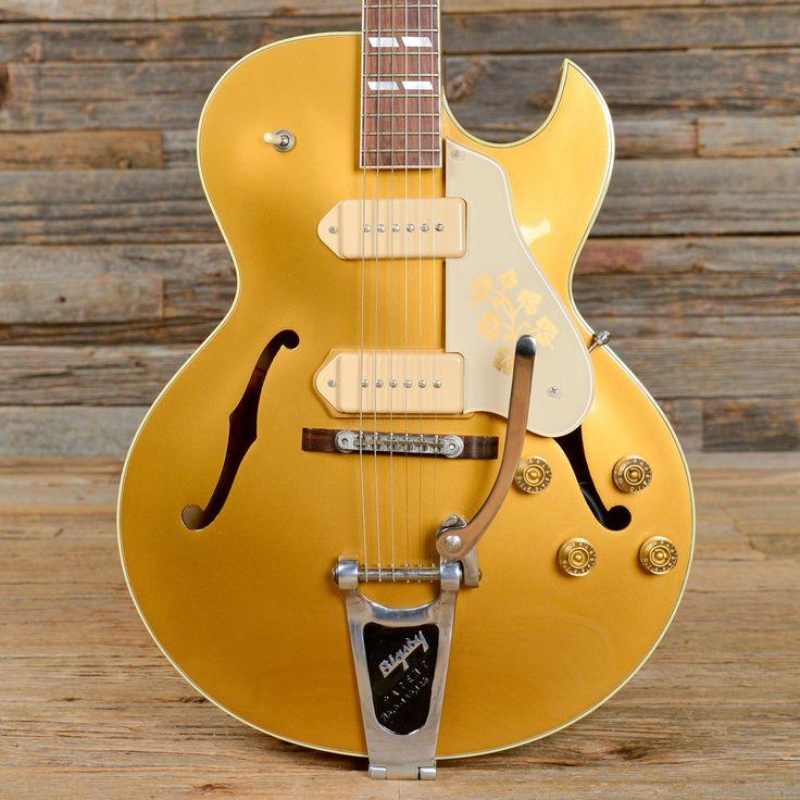 1998 Gibson ES-295 Gold w/Bigsby