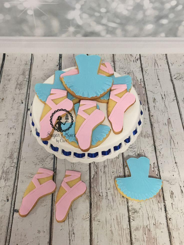 Ballet slippers & tutus in pink & blue #sugarnspicebycher