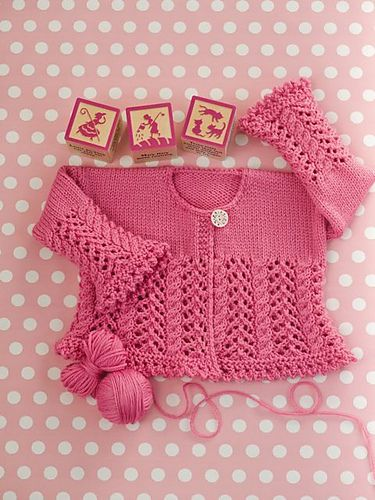Ravelry: Lace and Cable Cardigan pattern by Grace Akhrem