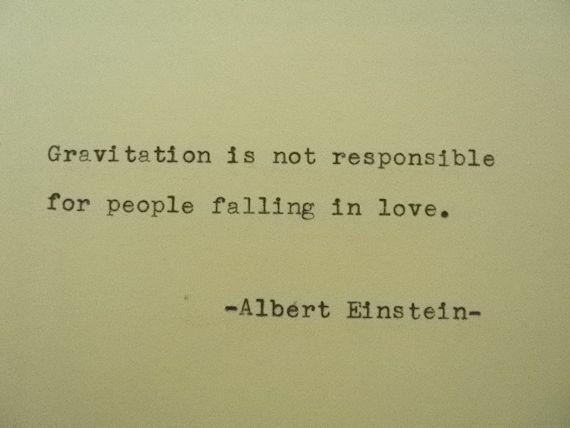 ALBERT EINSTEIN Poem Love Quote Albert Einstein by PoetryBoutique