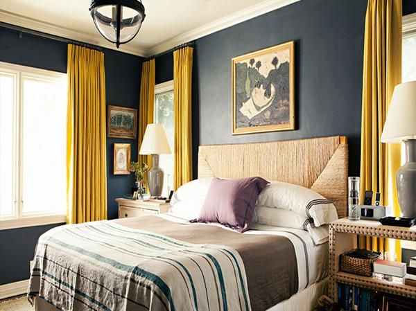 19 yellow bedroom