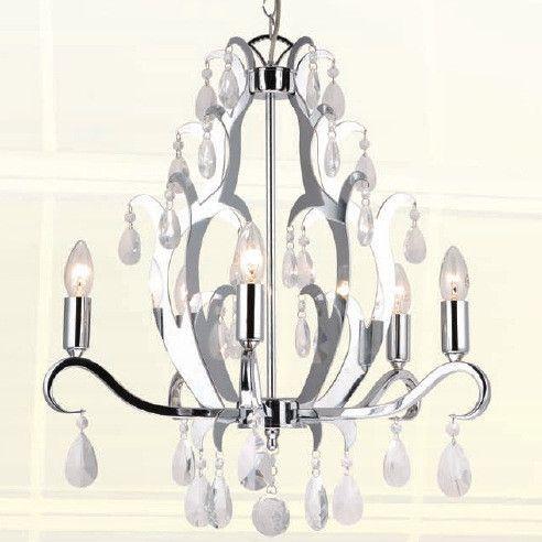 Kronleuchter Argus Chrom Klassisch Kristall Lampe Zum Kronleuter Shop