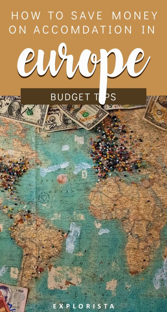 Here's all you need to know on saving big time on accommodation in Europe! #europe #budget