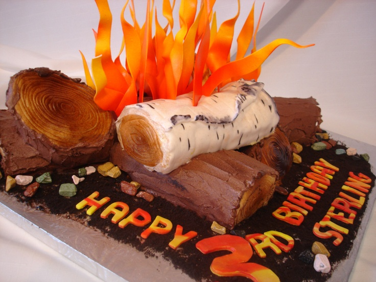 Bonfire Cake Bonfire Party Pinterest The O Jays