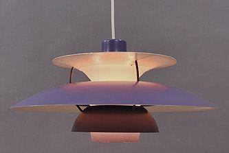 #1970s #purple #PH5 #ceilingLight #LouisPoulsen  http://retro-design.dk/butik/orange-ph-43-loftlampe-1970erne/