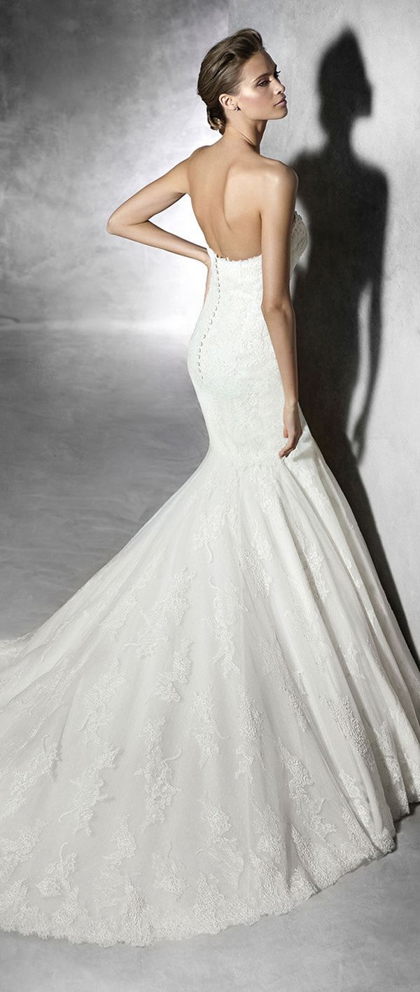 96 best wedding dresses images on pinterest wedding dressses pronovias wedding dresses 2016 collection part 2 ombrellifo Choice Image