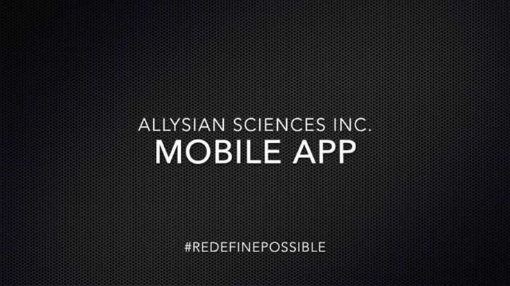 Allysian Mobile Platform Overview https://www.youtube.com/watch?v=4fVKESO56mQ