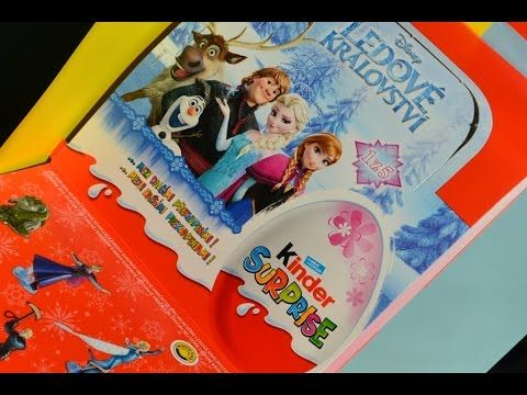 Ľadové kráľovstvo Frozen SD288 Princezná Anna Otvárame Nové Kinder Vajíč...