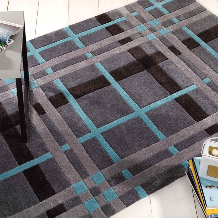 Infinite Funky Weave Rugs are handmade in China with a luxurious, 100% Polyester pile. The Modern design offers quality and style.