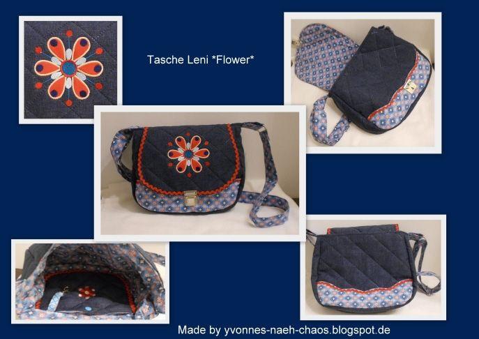 Tasche Leni - Flower