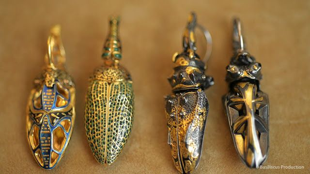 The earrings of the goldsmith Otto Jakob