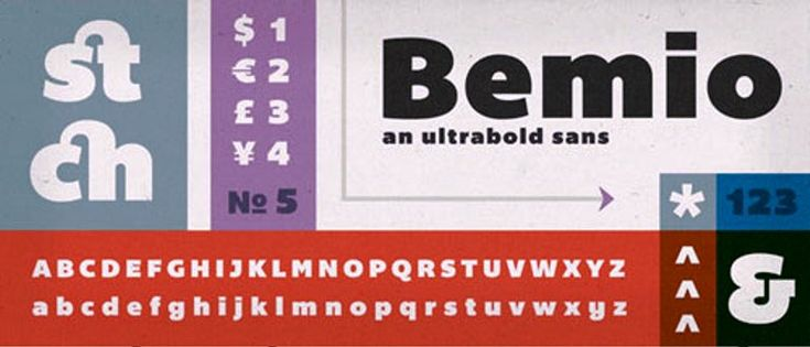 Bemio Font Cantik Free Download Gratis