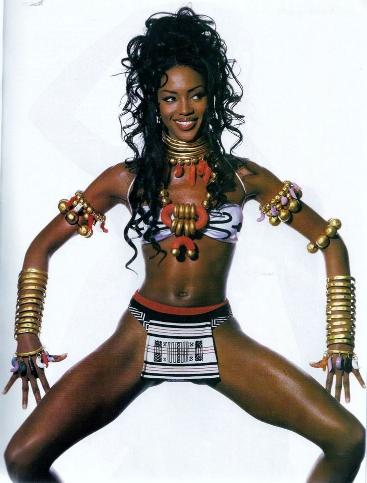 "Naomi Campbell in ""The Cutting Edge"" by Irving Penn for Vogue US January 1992"