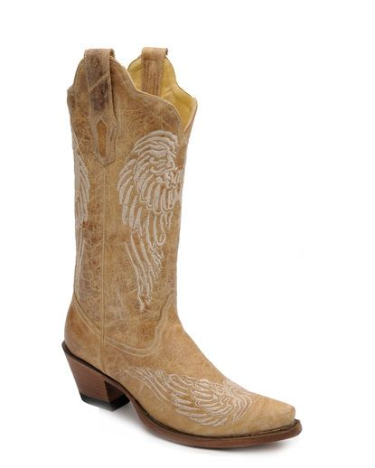 Women's Antique Saddle Wing Boot - R1175