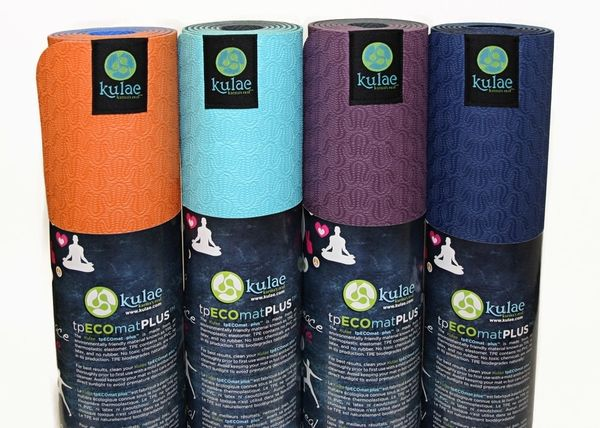 Eco Yoga Mat...that doesn't stink? Yes please!