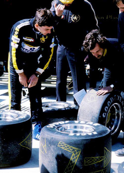 Ayrton Senna-tires