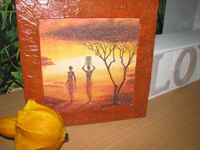 Africké ženy-krakelovací tmel