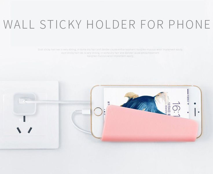 Universal wall sticky holder for phone #UnbrandedGeneric