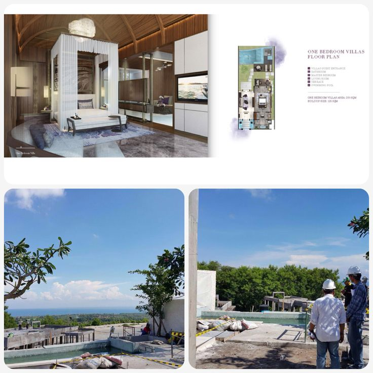 "Type "" Villa 1 Bedroom "", Land 250 sqm, Building 125 sqm New World Grand Bali Resort  Located in Jln Uluwatu Raya, in 10,8 ha land.  Spectacular Sunset, next to Golf Course, luxurious facilities.. Coming soon 2017.  Luxury Suites & Villas available to purchase, pls contact +6281808050505  Www.nwgrandbali.com"