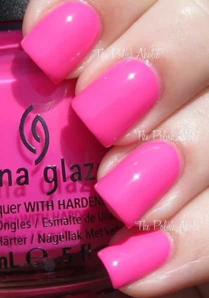 41 best ideas nails design summer pink china glaze