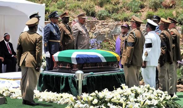 The looting of public funds during preparations for Mandela's funeral has been revealed in a report by the Public Protector. File picture: GCIS