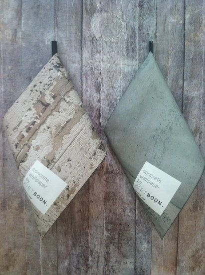 wall coverings that mimic concrete?!?! OMG.