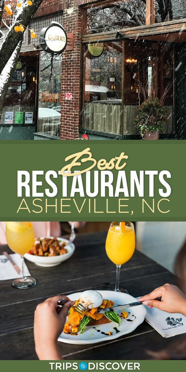 6 Best Restaurants In Asheville North