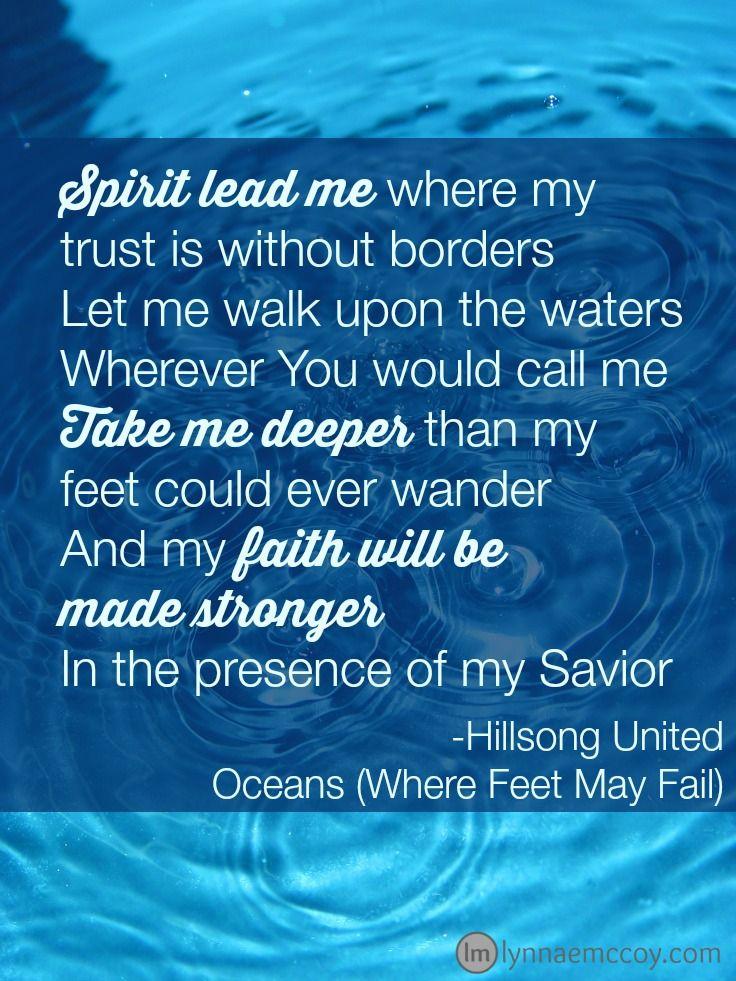 Word of the Year 2015 – Deeper | My prayer, Hillsong ...