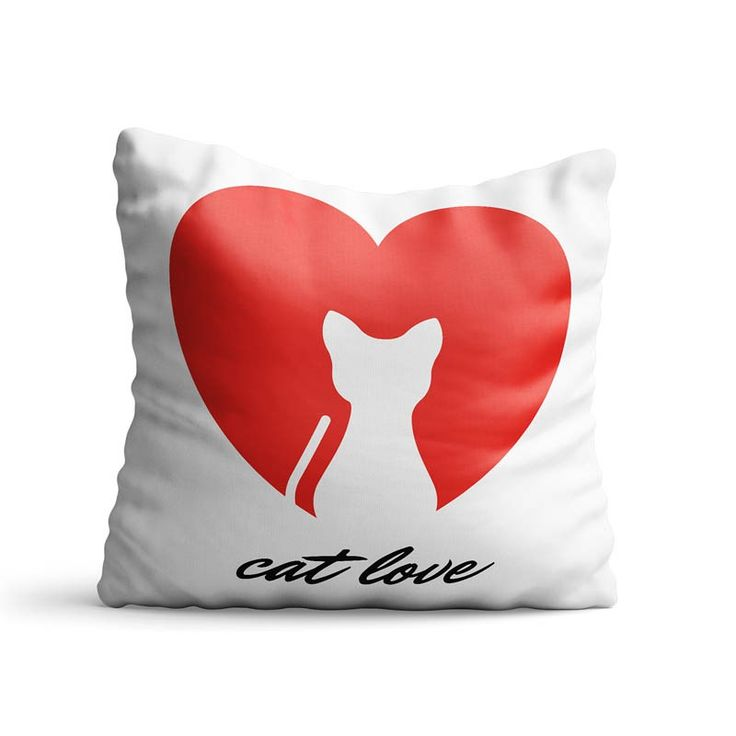 Perna decorativa Cat love