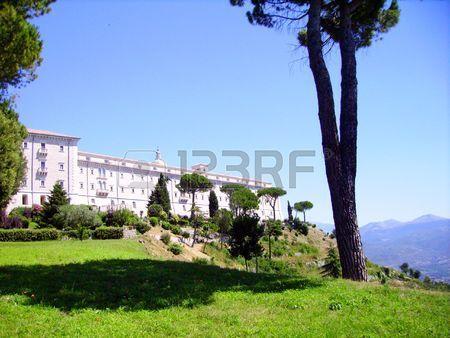 Abbey of Monte Cassino Stock Photo