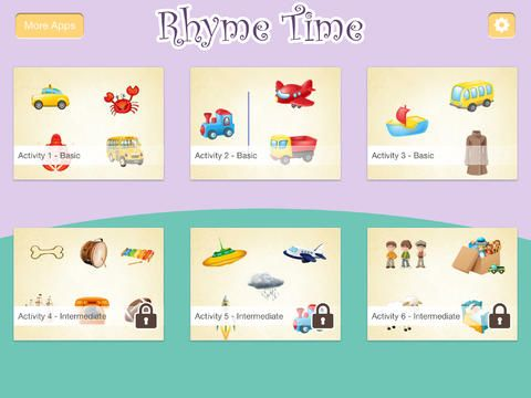 Montessori - Rhyme Time Learning Games for Kids by Innovative Mobile Apps