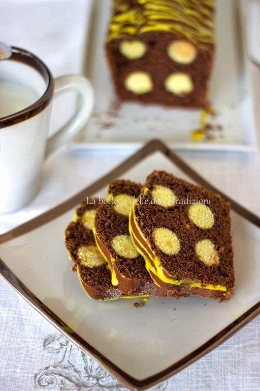 La bottega delle dolci tradizioni: Un plumcake a...pois!