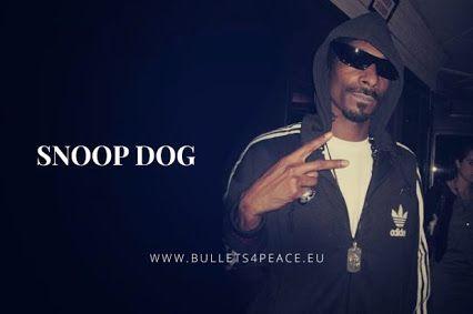 #PEACE #BULLETS4PEACE #ILOVEB4P Thank you Snoop Dogg @SnoopDogg