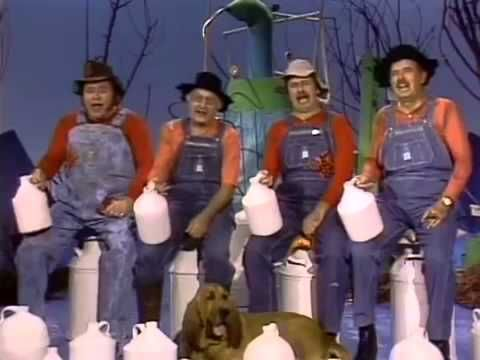 """Gloom, Despair & Agony on Me!"" -  Hee Haw! Roy Clark, Grandpa Jones, Gordie Tapp, & Archie Campbell"