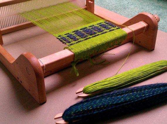 Handwoven Cotton Scarf - very soft apple green via Etsy