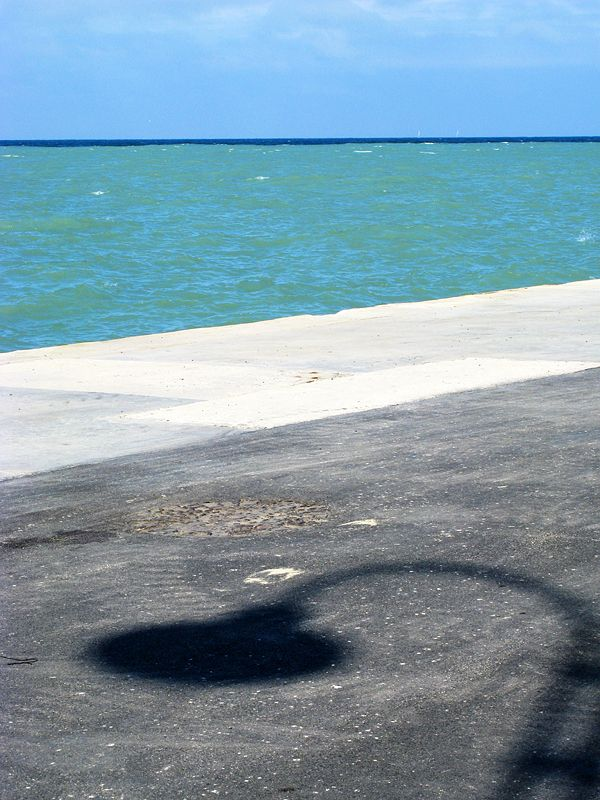 rimini #sea #beach #blue #colors #horizon #shadow #photo #tommymorosetti