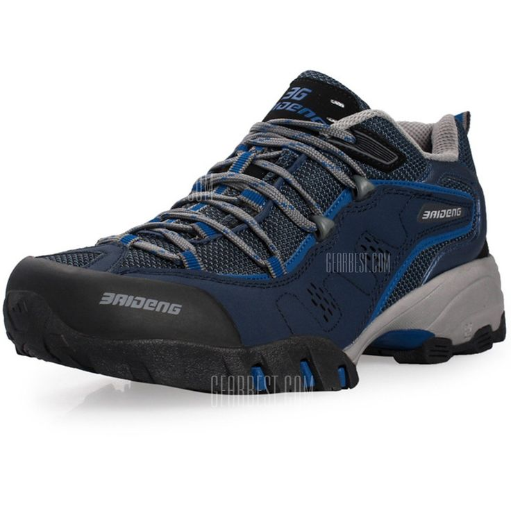 Outdoor Men Breathable Mesh Trekking Shoes-40.94 and Free Shipping| GearBest.com