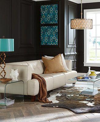 die besten 17 ideen zu teal leather sofas auf pinterest, Hause ideen
