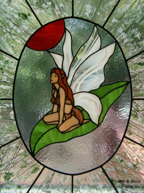 126 best stained glass fairies images on pinterest