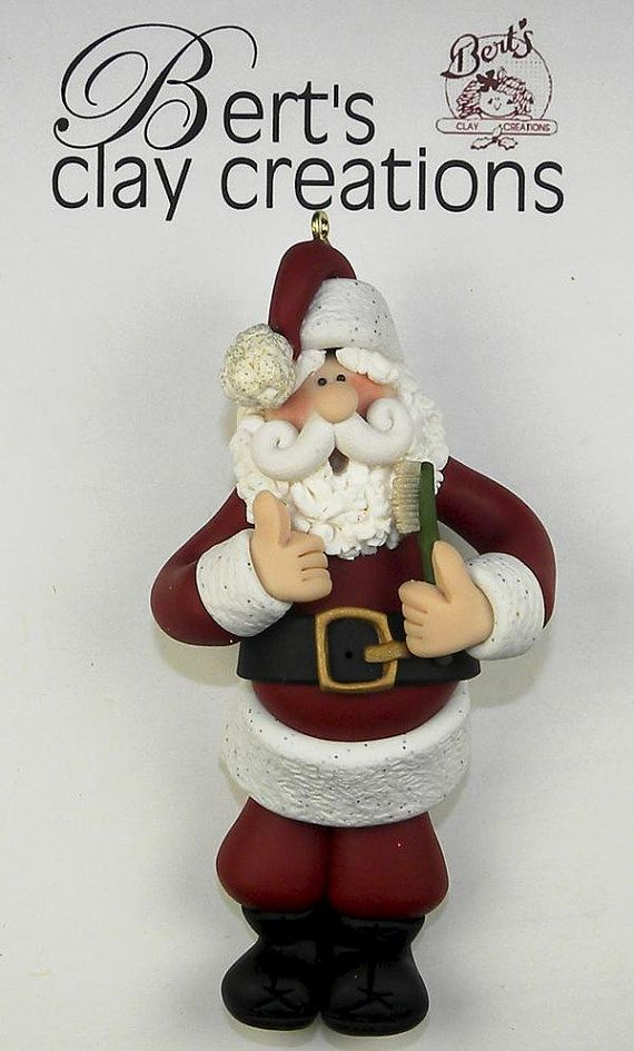 Ornament  Sweet Tooth by BertsClayCreations on Etsy, $16.50