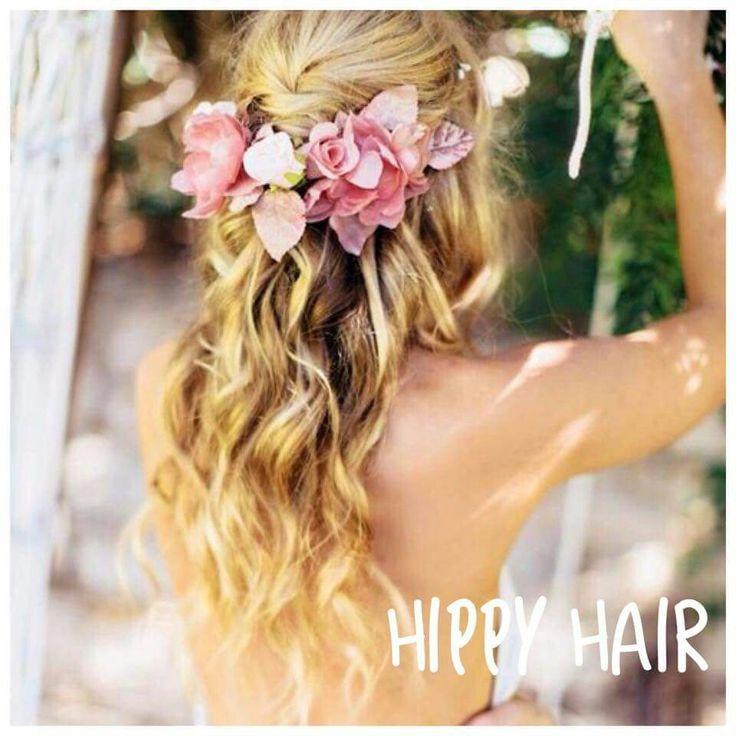 Hippy hair