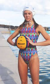 Waterpolo catsuit - monet garden