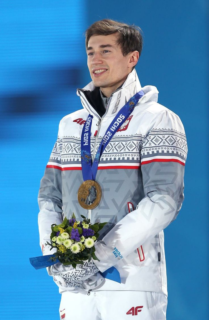 SKI JUMPING MEN'S NORMAL HILL INDIVIDUAL: Gold medalist Kamil Stoch of Poland